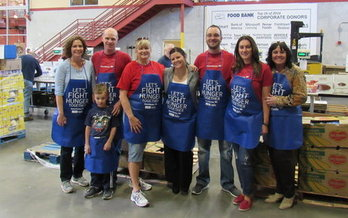 In northern Nevada alone, people gave more than 25,000 volunteer hours to the food bank last year. (FBNN)