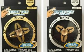 Target recently removed two spinners from stores shelves because of high levels of lead. (U.S. PIRG Education Fund)