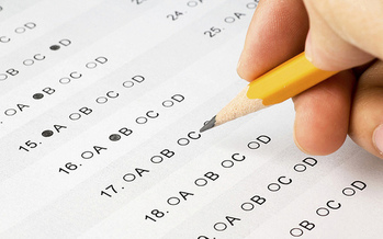 Massachusetts educators say standardized testing is putting increasing pressure on students.<br />(Alberto G./Flickr)