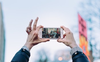 Cellphones have become important tools for documenting and deterring police misconduct. (StockSnap/Pixabay)