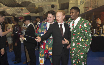 Setting clear expectations about what kind of behavior is not acceptable at a holiday party can go a long way toward minimizing bad outcomes. (Wikimedia Commons)