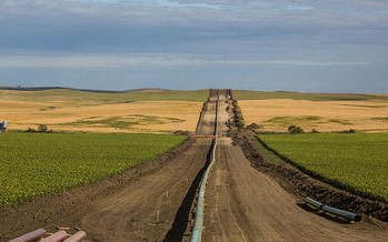 A new environmental review of the Dakota Access Pipeline is under way. (Tony Webster/Flickr)