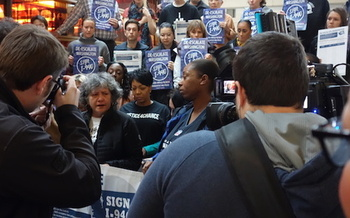The campaign for Initiative 940 has gathered more than 300,000 signatures. (De-Escalate Washington)