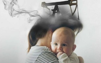 Natural gas wells are known to be sources of problematic air pollution, and may be causing issues in developing fetuses. (Egan Jimenez/The Woodrow Wilson School of Public Affairs)