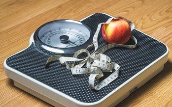 Attaining New Year's resolutions such as losing weight takes persistence. (TeroVesalainen/Pixabay)