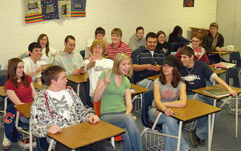 A bipartisan bill would require Wisconsin school districts to develop and implement policies to promote healthy relationships between teens. (David Shankbone/Wikimedia Commons)