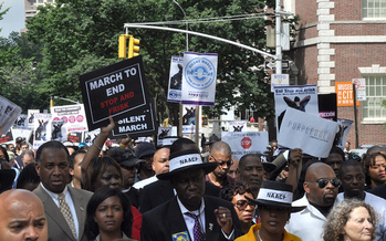 Police stop-and-frisk practices also have been challenged in New York City. (Michael Fleshman/Flickr)