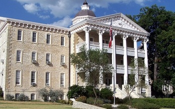 The Austin State Hospital was opened in 1857 as the Texas State Lunatic Asylum. It will be replaced with a new $235 million facility in 2019. (THHSC)
