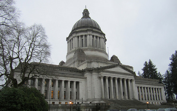 On Wednesday, a Washington State Senate committee held a public hearing in Olympia on two bills that address the gender pay gap in the state. (SounderBruce/Flickr)