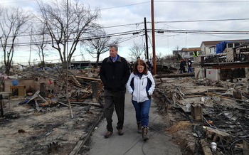 After Superstorm Sandy, New York City launched a $20 billion program to improve protections from the impacts of climate change. (Bill de Blasio/Flickr)