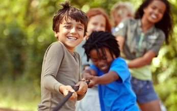 A new report shows that children of color comprise 68 percent of the 7.3 million kids in Texas. (Arcurs/GettyImages)<br /><br />