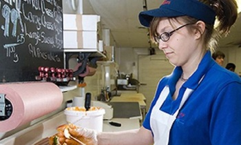 A new federal Labor Department proposal would allow employers to take tips earned by their wait staff. (cdc.gov)