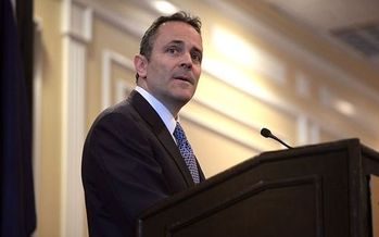 A new Medicaid work requirement announced by Kentucky Gov. Matt Bevin will affect an estimated 350,000 adults. (Gage Skidmore/Wikimedia Commons)