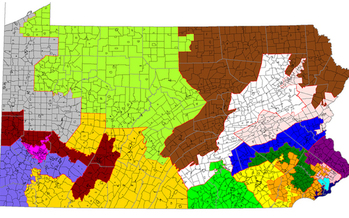 The court ordered that new congressional district lines be set by Feb. 19. (61-1099lm/Wikimedia Commons)