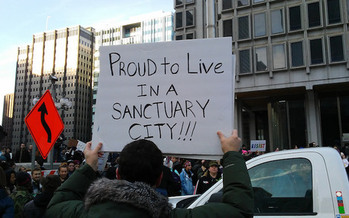 The U.S. Department of Justice has sent letters threatening legal action to 23 sanctuary cities around the country. (7beachbum/Flickr)