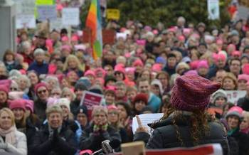 This weekend�s events mark the first anniversary of the Women's March on Washington, in New Hampshire and across the country. (Jodi Picoult)