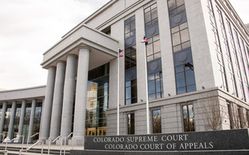 The Colorado Independent Ethics Commission, located in the Ralph L. Carr Colorado Judicial Complex, will consider public comments on its records access policy on Feb. 12. (Colorado Judicial Branch)
