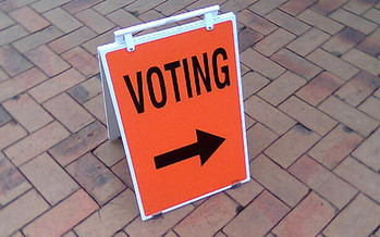 Florida is one of four states that denies the right to vote to all people convicted of felonies until they petition the state to restore those rights. (Amanda Wood/Flickr)