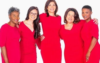 National Heart Month kicks off with the American Heart Association's National Wear Red Day this Friday. (American Heart Assn.)