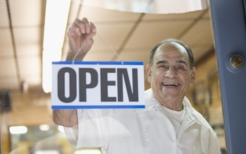 Many Americans 50 and older are looking at changing careers, and are considering starting their own business. (Pelaez/GettyImages)