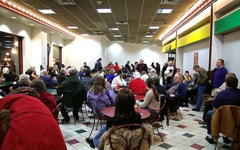 Hundreds of thousands turned out in Minnesota for 2016 precinct caucuses. The state moves to a presidential primary in 2020. (Jeremy Noble/FlickR)