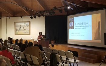 Ambrin Masood is a professor at Montana State University Billings and speaks to audiences about her Muslim faith. (Courtesy of Dr. Ambrin Masood)