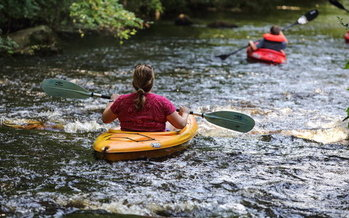 Rockingham now has a 14-mile blue trail through the city that draws outdoor enthusiasts from around the state and country. (City of Rockingham)
