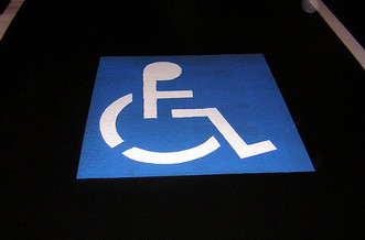 ADA enforcement essentially relies on people with disabilities challenging violations. (Ian MacKenzie cosgriff/Flickr)