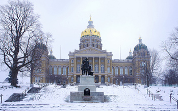 Bills under consideration in the Iowa Legislature do not align with a 2014 survey that showed 97 percent of Iowans support increasing energy efficiency to meet the state's energy needs. (iowaenvironmentalfocus.org)