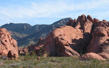 Valley of Fire State Park in Nevada is one of hundreds of sites that have benefited from Land and Water Conservation Funds over the years. (Wikimedia Commons)