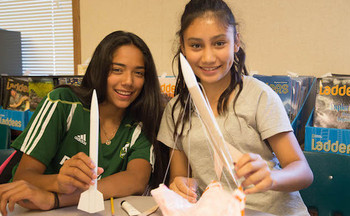 An after-school STEM program for girls in White Salmon is just one that would lose federal funding under the Trump administration's 2019 budget. (School's Out Washington)