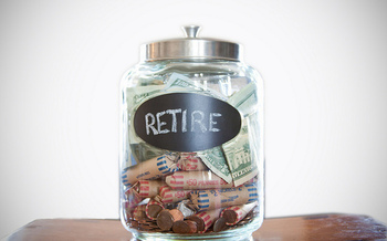 Under Oregon's new retirement savings program, people are saving about $50 per paycheck. (American Advisors Group/Flickr)