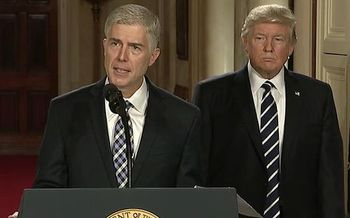 The addition of Neil Gorsuch to the U.S. Supreme Court could tip the scales in Janus v. AFSCME. (Wikimedia Commons)