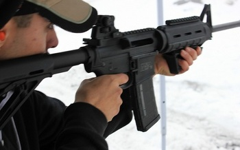 AR-15s were used in mass shootings in Newtown, San Bernardino, Las Vegas and Parkland. (Jonathan James/Flickr)