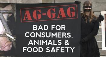 Journalistic expos�s of cruelty or unsafe practices in Iowa's animal agriculture industry were stymied by passage of the state's