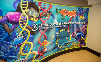 The Center for Pediatric Genomic Medicine at Children's Mercy was established in 2011. (Children's Mercy Kansas City)