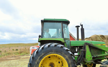 Many factors associated with farm stress are uncontrollable, such as weather, commodity markets and the isolated nature of farming. (U.S. Dept. of Agriculture/Flickr)