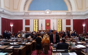 The West Virginia Legislature passed SJR 12 on Monday. Now the anti-abortion measure is headed for the November ballot. (Dan Heyman)
