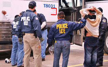 ICE officials have carried out enforcement actions in at least 24 Massachusetts courthouses. (U.S. Immigration and Customs Enforcement)