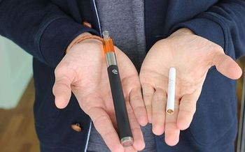 Utah law prohibits selling tobacco products to minors, but there are no federal rules limiting access to electronic cigarettes. (Lindsay Fox/Wikimedia Commons)