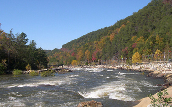 Tumbling Creek feeds into the Ocoee River, site of the whitewater events for the 1996 Olympics. (Natures Paparazzi/Flickr)