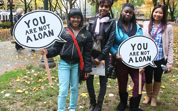 People of color are said to be disproportionately impacted by dishonest student-loan service providers, and now they have one less level of protection. (Sarah Mirk/Flickr)