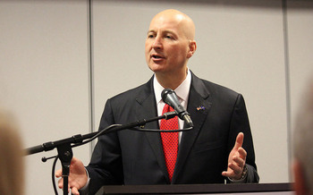 Gov. Pete Ricketts is being accused of partisan politics for using the state budget to attempt to restrict Title X funding to some health clinics. (Matt Johnson/Flickr)