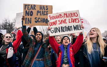 Some Pennsylvania educators told lawmakers this week that they don't believe adding police and armed personnel to schools will make them safer. (Lorie Shaull CC BY-SA 2.0/Flickr)