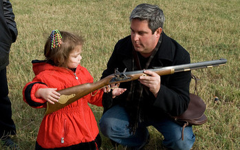 Nearly half of homes in Ohio with children have a firearm. (M&R Glasgow/Flickr)