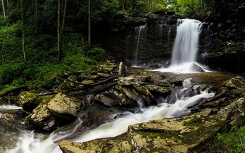 The outdoor recreation industry says public lands are key to West Virginia's economic future.<br />(Birthplace of Rivers/Sam Taylor)