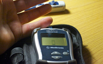 Men, people of color and older adults are at higher risk of developing type 2 diabetes.<br />(Alan Levine/Flickr)