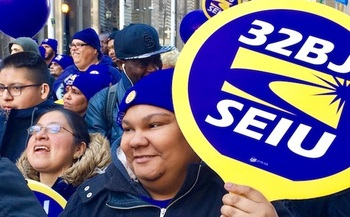 The raises will affect about 40,000 workers at JFK, LaGuardia and Newark airports. (32BJ)