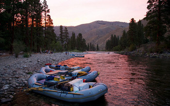 The Middle Fork of the Salmon River in Idaho is one of many waterways protected under the Wild and Scenic Rivers Act. (Zachary Collier/Northwest Rafting Co)