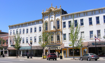 The Ravenna-Phoenix Block is among areas that have been rehabilitated thanks in part to the Federal Historic Tax Credit. (Ohio Redevelopment Project/Flickr)